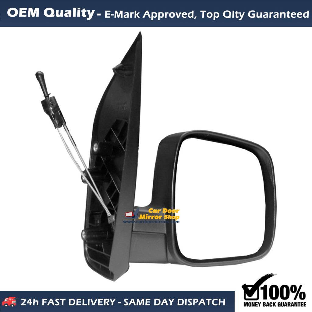 2001 To aug2014 RH Side Wing Mirror Glass For Vauxhall Vivaro With Base-Heated