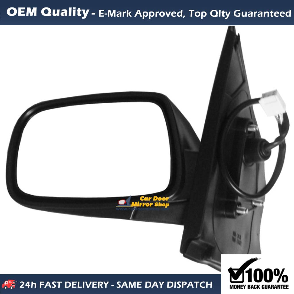 toyota yaris side mirror glass replacement