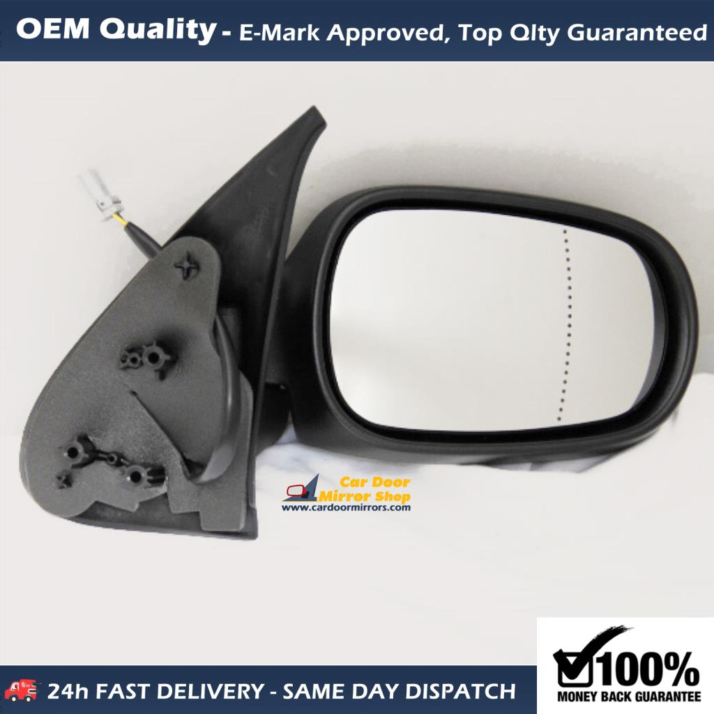 Hyundai I10 Wing Mirror Replacement With Back Plate Left