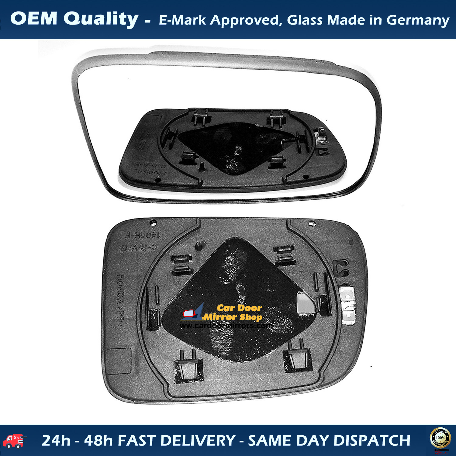 Gold Shrine for 2002 2003 Acura Rsx Power Side Mirror Passenger Side Replacement