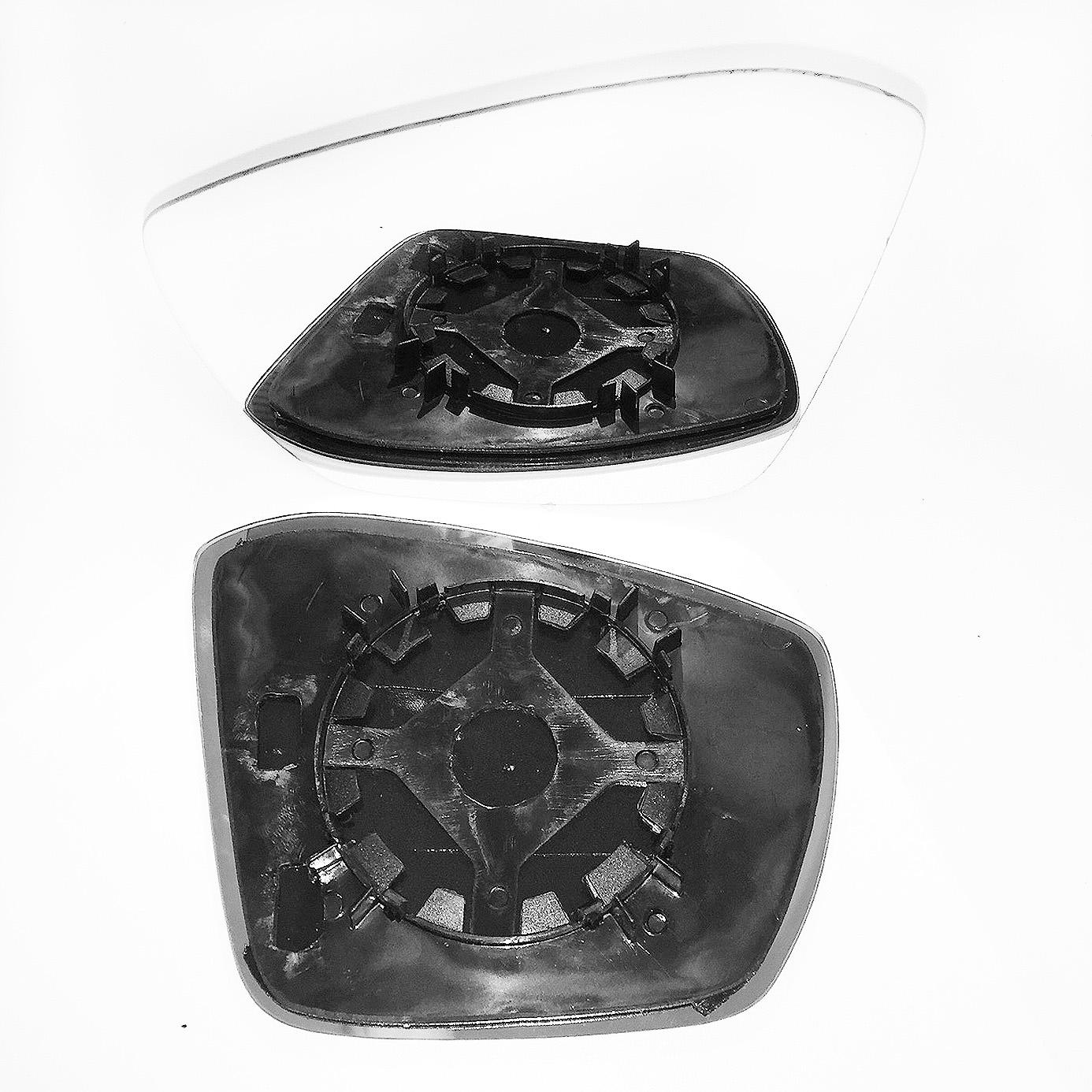 Skoda Octavia Wing Mirror Glass Left Hand Side 2008