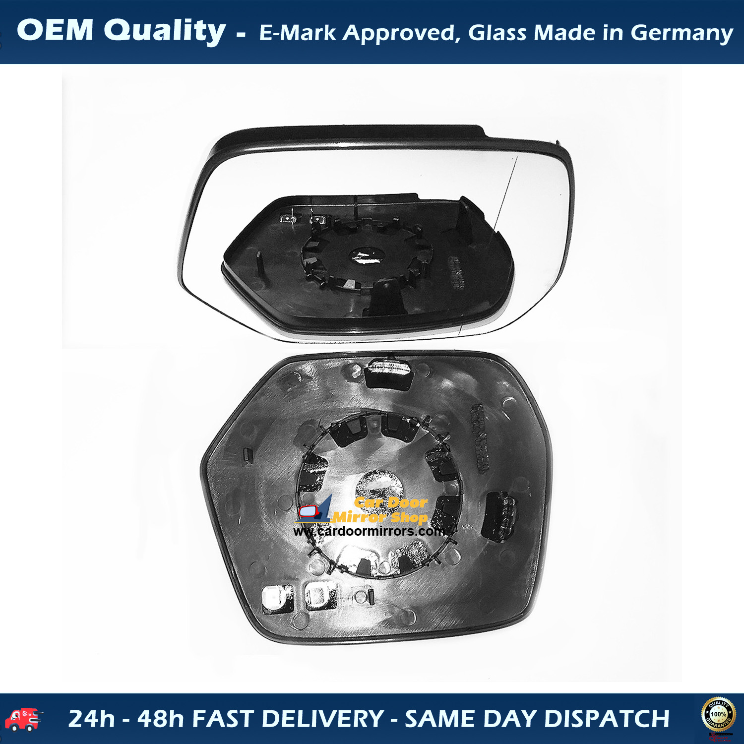 BMW X5 Wing Mirror With Base-Heated Aspheric,LHS,2007 TO 2013