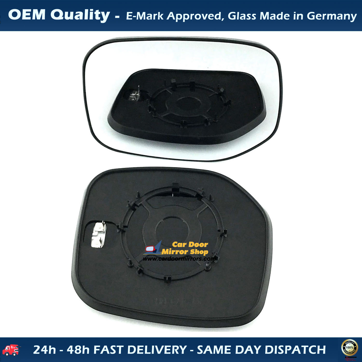 Fiat Ducato Wing Mirror Cover Black For Short Arm Left