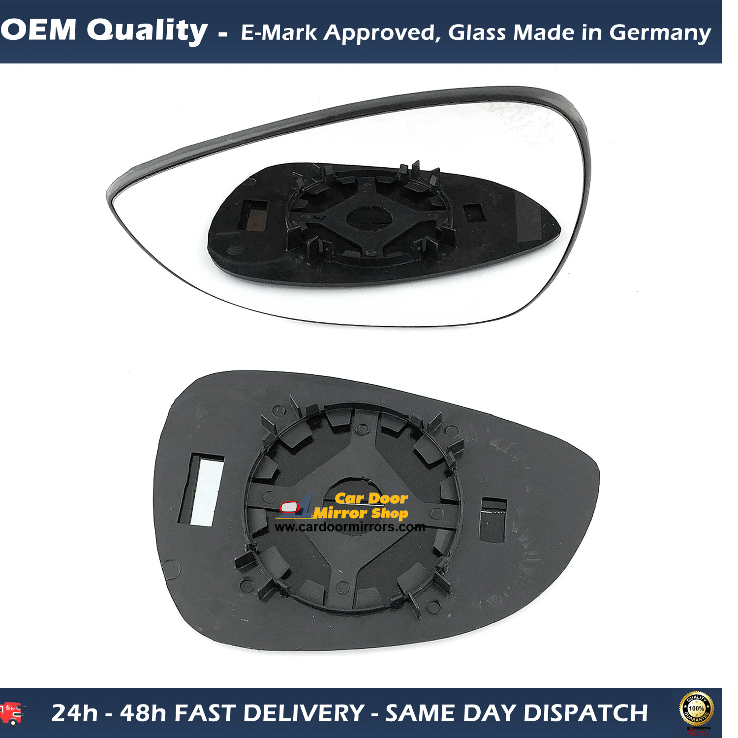Ford Fiesta Wing Mirror Glass Replacement