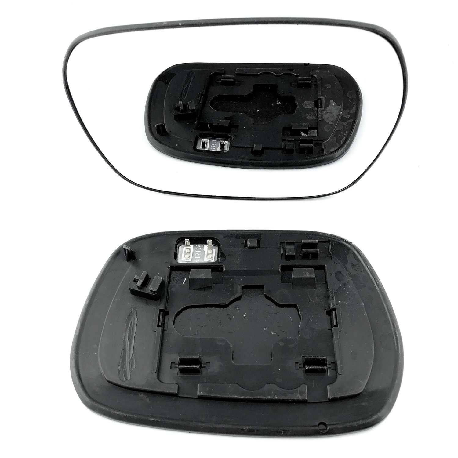 Electric Wing Door Heated Mirror Glass w//Base Right Side For Toyota RAV4