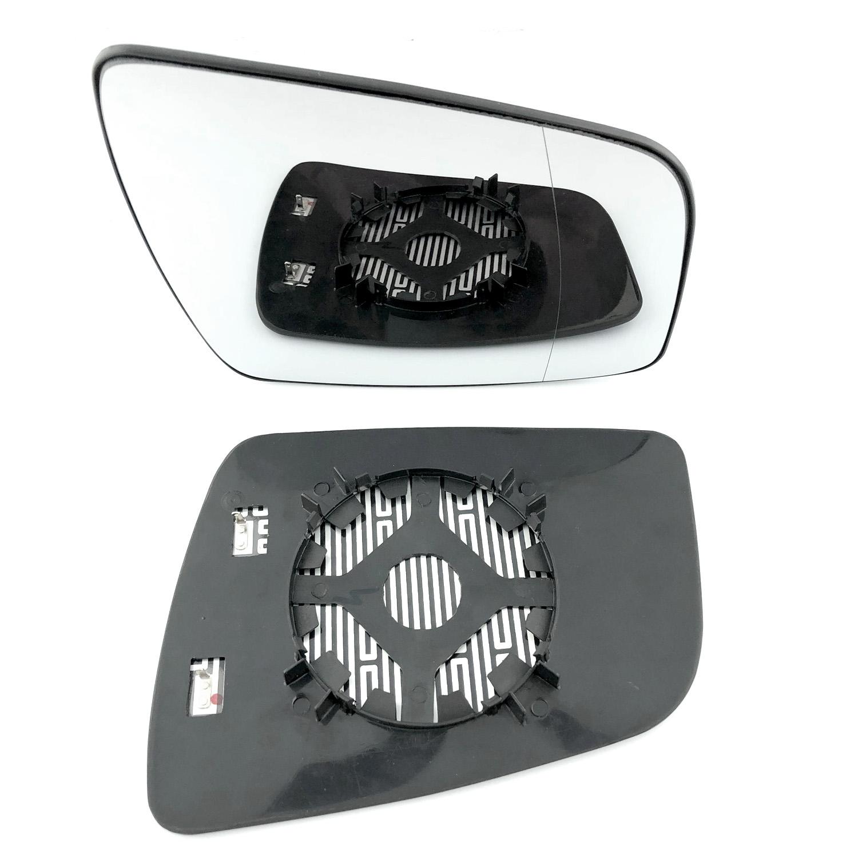 Right Driver Side Wing Mirror Glass HEATED Aspheric Vauxhall ZAFIRA B 2009-2014