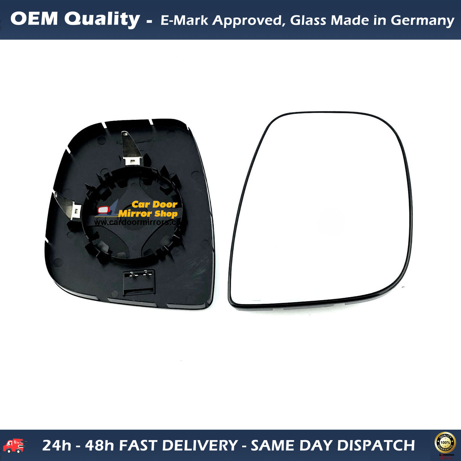 Wing Mirror Renault Clio MK IV Fits to reg 2013 To 2017 Heated Covex LHS